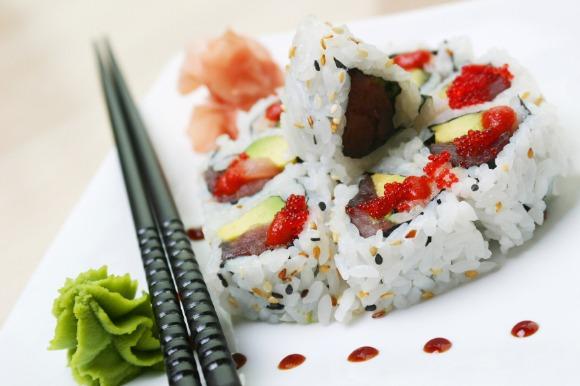 wasabi para sushi