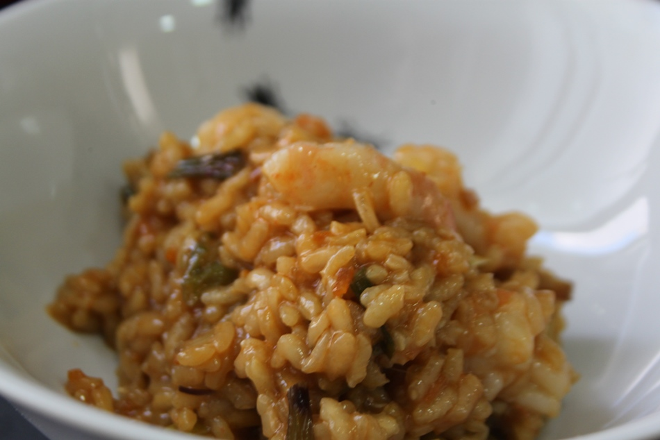 Receta de Arroz japonés con marisco al estilo occidental