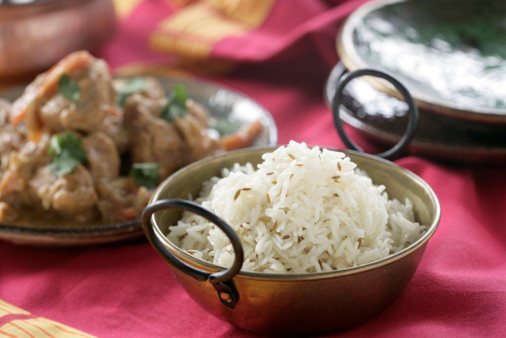 Receta de Cordero cachemira con arroz
