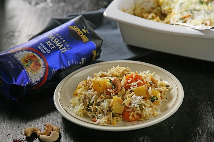 Receta de Receta de Biryani de verduras