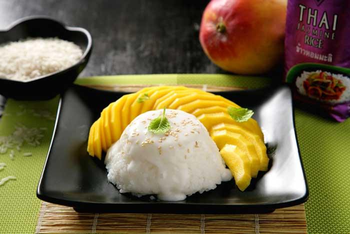 Receta de Mango rice