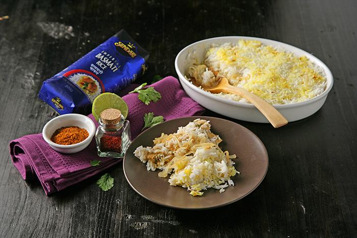 Receta de Biryani de pollo
