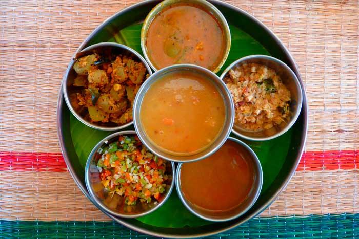 salsas cocina de la india