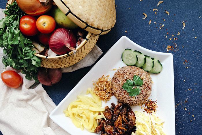 menú típico tailandés