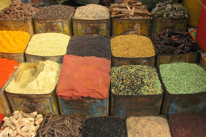 especias en la cocina exótica 2