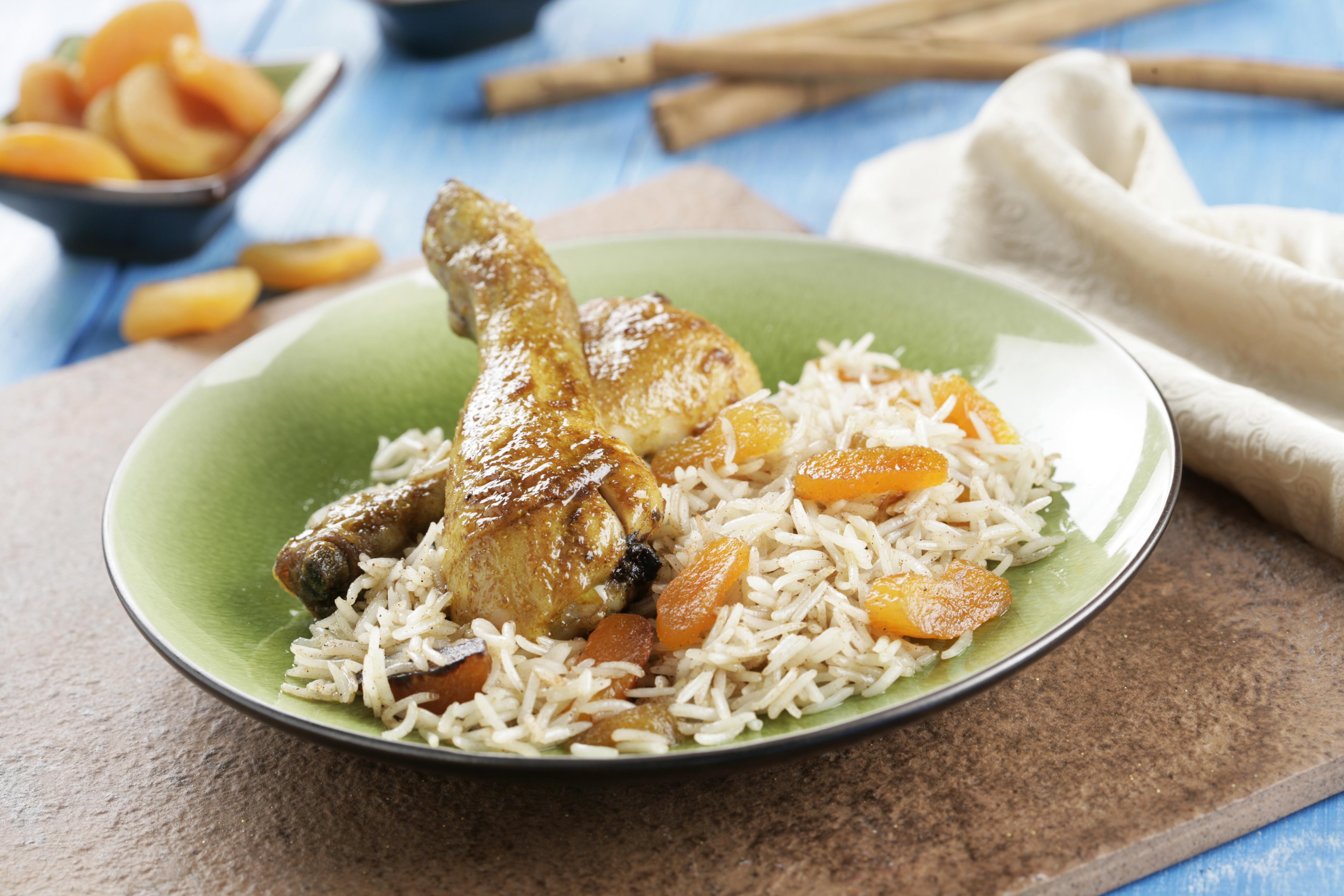 Receta de Pollo al curry de madras – Receta Arroz Basmati – Sundari