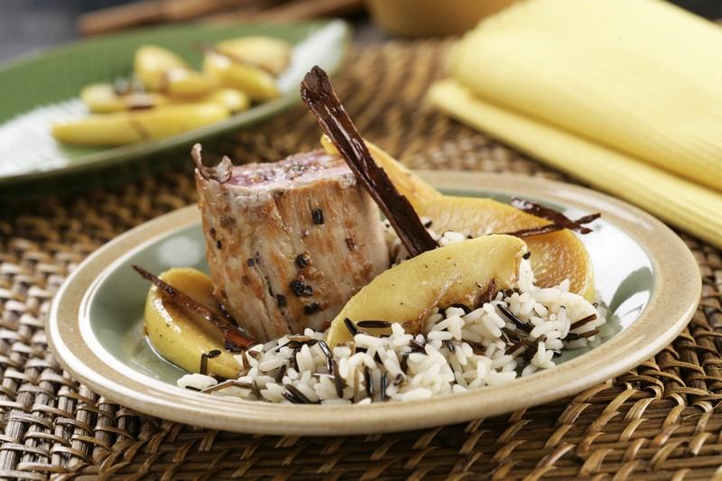 Receta de Solomillo de cerdo – Receta Arroz Salvaje – Sundari