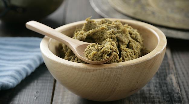 Una imagen del ingrediente Pasta de curry verde