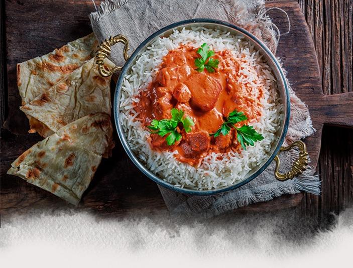 Receta de Pollo Tandoori con Arroz Basmati