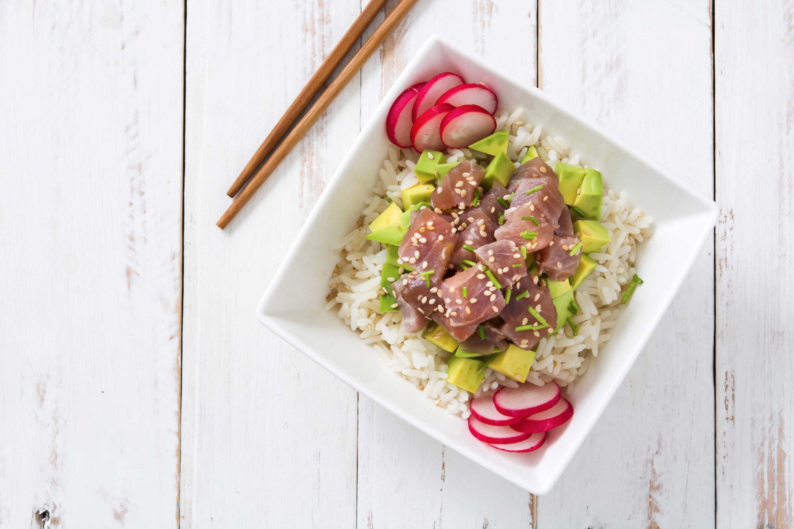 Receta de Ensalada de arroz basmati y atún