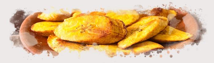 El plátano frito puede ser el acompañamiento perfecto